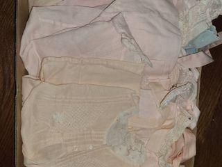 VINTAGE BABY ClOTHES 8 pcs
