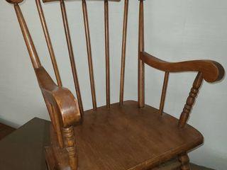 Child s Wooden Rocking Chair