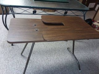 Wood Sewing Table 26 x 36 x 19 in
