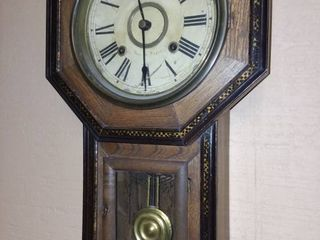 Vintage Takanos Clock Facory Wall Clock 21 x 12 x 4 in