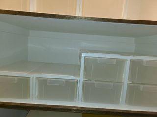 6 Drawer Plastic Storage Bins