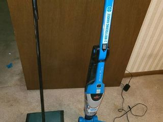 2 BISSEll FlOOR ClEANERS  1 is the BISSEll 2600 and the other is the BISSEll BOlT for pet hair