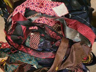 large Bag of MENS TIES