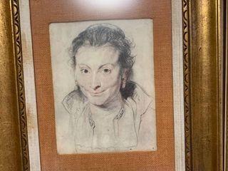Framed art 23 x 19