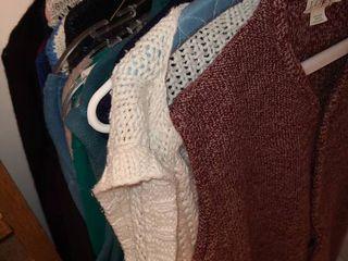 lADIES SWEATERS long  Sleeve  short Sleeve and Vests