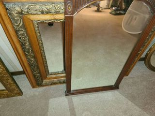 2 Mirrors  1 is fairly old