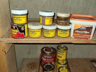 Wood Putty and Stain