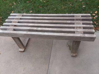 Wooden Bench 20 x 48 x 18 in