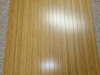 Wood Floor Mat  41 x 48