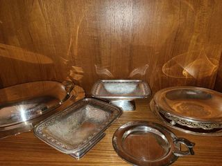 Silverplated Serving Platters