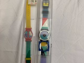 2 Swiss sporty watches
