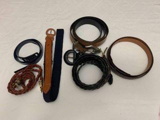 Six belts