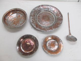 18th century copper set