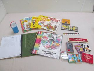 Crossword puzzle books  crafting supplies