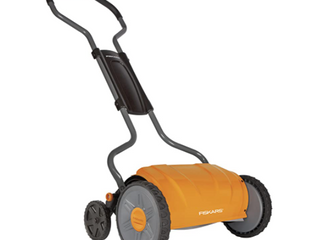 Fiskars 17  Staysharp Push Reel lawn Mower