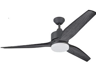 Harbor Breeze Fairwind 60 In Ceiling Fan Gray Galvanized With Remote MISSING REMOTE