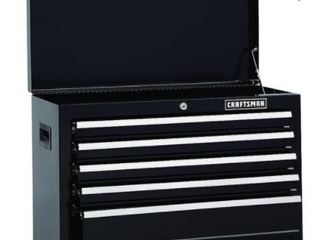 Craftsman 26  Wide 5 Drawer Top Box