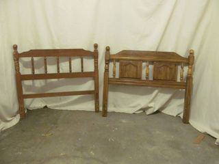 Twin bed headboards  frames