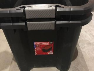 Craftsman 40 Gallen Storage Container Set of 2