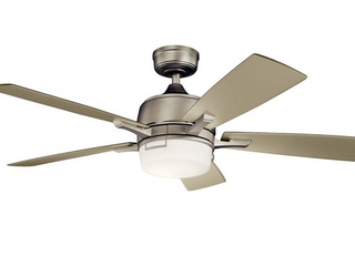 Kichler leeds 52 in  Indoor Ceiling Fan