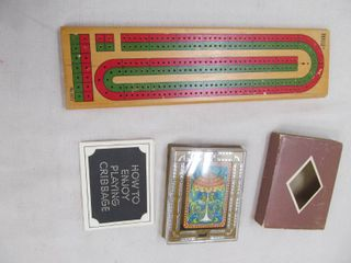 Cribbage board games