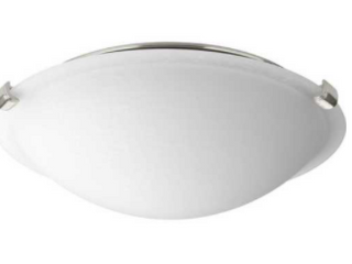 One light 12  lED Dome Flush Mount