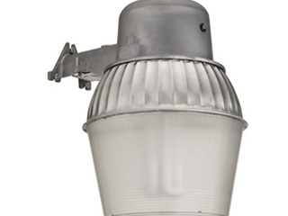 lithonia OAlS10 65F 120 P lP M4 Standard Outdoor Area light with 65 Watt Compact Fluorescent Compact Quad Tube