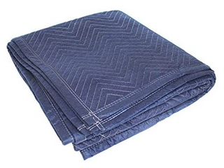 Blue Hawk 80 in l x 72 in W Cotton Moving Blanket