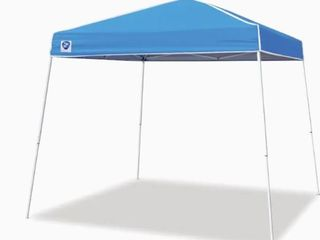 Z Shade Pop Up Tent  Blue and Silver