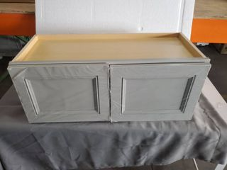 Diamond Now Wintucket 30 x12  Wall Cabinet Grey