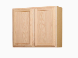 Kitchen Classics 30 in x 36 in x 12 in Oak Unfinished Double Door Kitchen Wall Cabinet