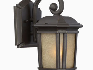 Quoizel Corrigan 10 87 in H Medium Bulb  E 26  Bronze Outdoor Wall light