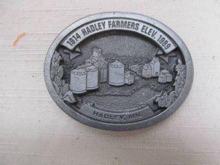 Hadley MN belt buckle