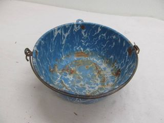 Metal antique bowl