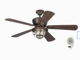 Harbor Breeze Merrimack Remote Control 5 Blade Ceiling Fan
