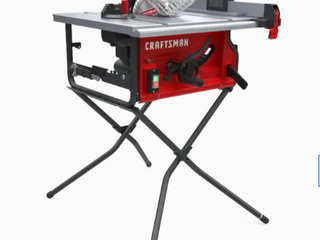 Craftsman 10 in Carbide tipped Blade 15 amp Table Saw