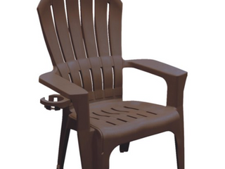 Adams USA Big Easy Adirondack Chair  Brown