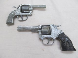 Vintage Metal toy guns