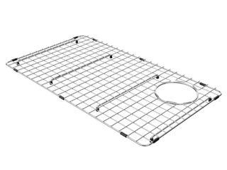 KRAUS Stainless Steel Bottom Grid for Bellucci Granite Farmhouse Sink