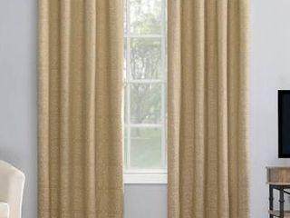 Sun Zero Evie Medallion Jacquard Extreme 100  Blackout Grommet Curtain Panel