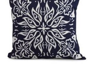 20 x 20 Inch Cuban Tile 3 Geometric Print Pillow