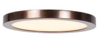 Access lighting Disc 1 light Bronze Medium Round lED Flush Mount