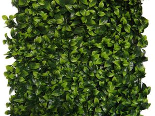 Indoor Outdoor Cancun Flowering Artificial Foliage Wall Panels   Green  Retail 78 48