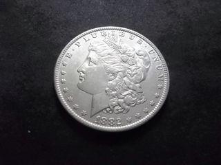 1882 O Morgan Silver Dollar