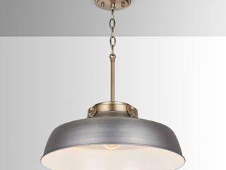 Carbon loft Jennie 1 light Antique Nickel Pendant  Retail 150 99