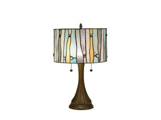 Tiffany Style Contemporary Table lamp   23  height and 14  shade  Retail 125 11