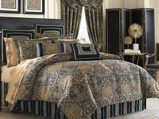 Five Queens Court Palmer King Comforter Set Bedding