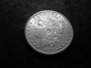 1885 CC Morgan Silver Dollar