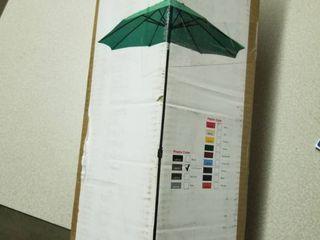 Aluminum Patio Market Umbrella Tilt with Champagne Pole  Retail 93 99