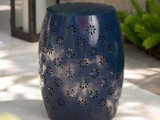 Soleil Outdoor 15 inch Round End Table by Christopher Knight Home  Retail 83 49
